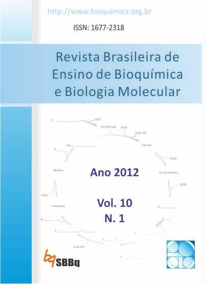 Revista Brasileira de Ensino de Bioquímica e Biologia Molecular (RBEBBM: 2012)
